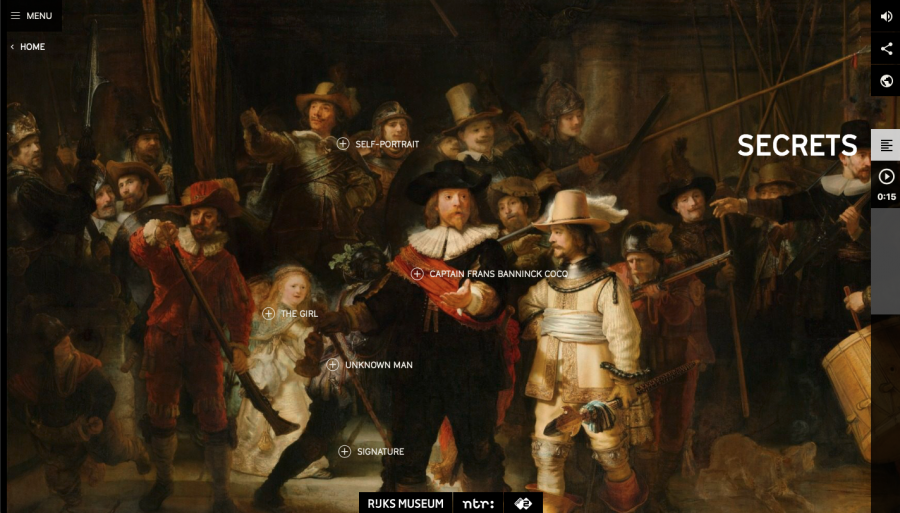 Enter an Online Interactive Documentary on Rembrandt's The