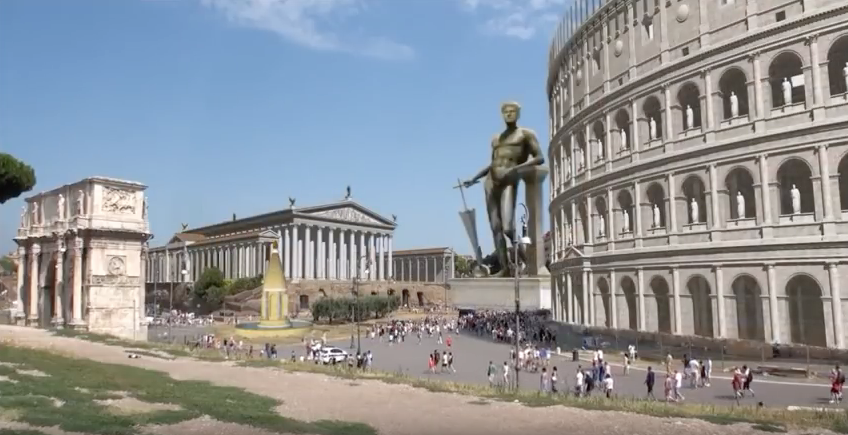 An Animated Reconstruction of Ancient Rome: Take A 30-Minute Stroll