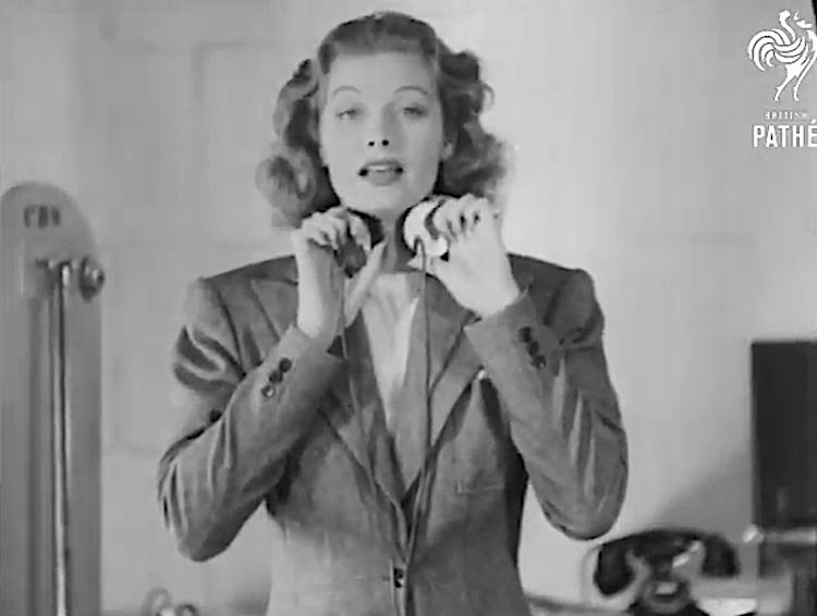 """Lucille Ball Demos a Precursor to Peter Frampton's """"Talk Box"""" (1939)"""