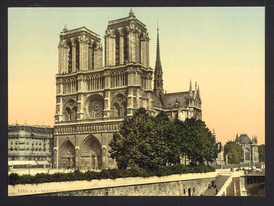 Paris in Beautiful Color Images from 1890: The Eiffel Tower, Notre Dame, The Panthéon, and More (1890)
