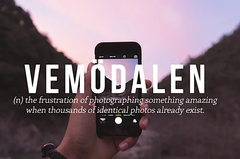 A Dictionary of Words Invented to Name Emotions We All Feel, But Don