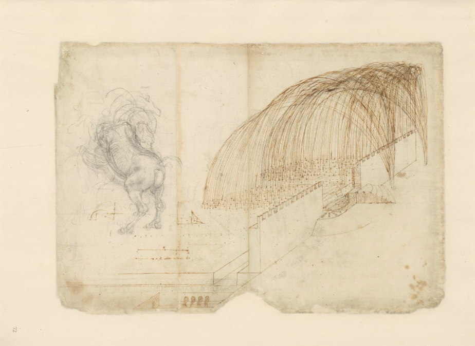A Complete Digitization of Leonardo Da Vinci's Codex