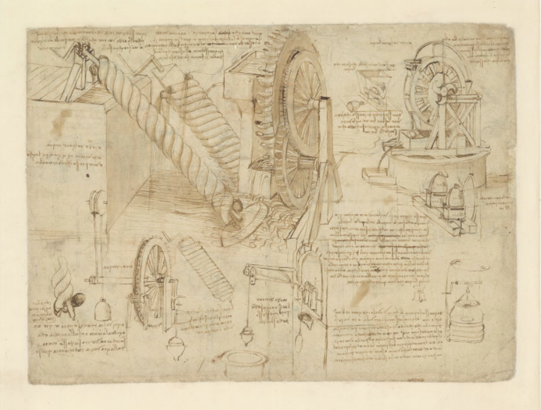 A Complete Digitization of Leonardo Da Vinci's Codex Atlanticus, the Largest Existing Collection of His Drawings & Writings