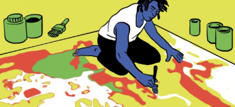 The Story of Jean-Michel Basquiat's Rise in the 1980s Art World Gets Told in a New Graphic Novel