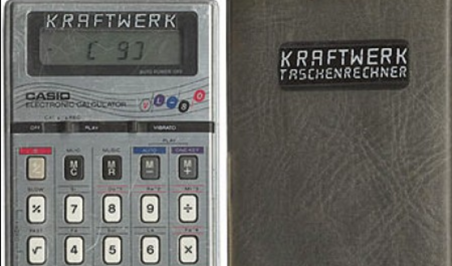When Kraftwerk Issued Their Own Pocket Calculator
