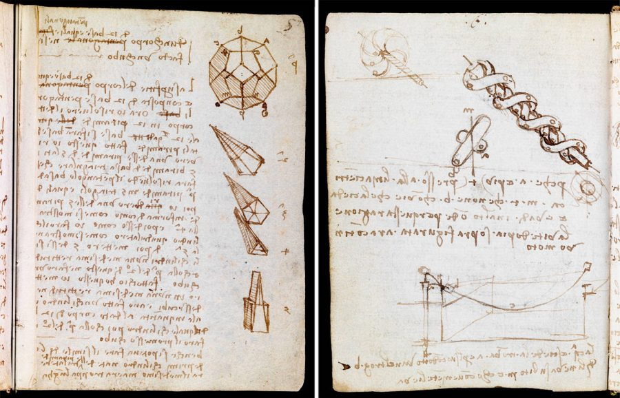 Leonardo da Vinci's Huge Notebook Collections, the Codex Forster, Now Digitized in High-Resolution: Explore Them Online