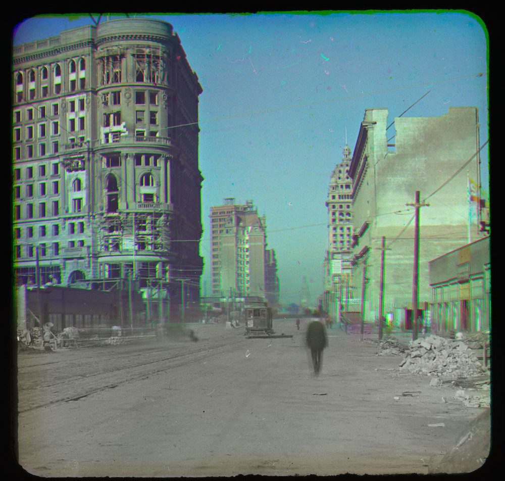 Behold Color Photographs Taken During the Aftermath of San Francisco's Devastating 1906 Earthquake