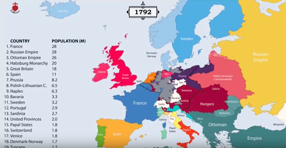 The History of Europe from 400 BC to the Present, Animated in 12 Minutes