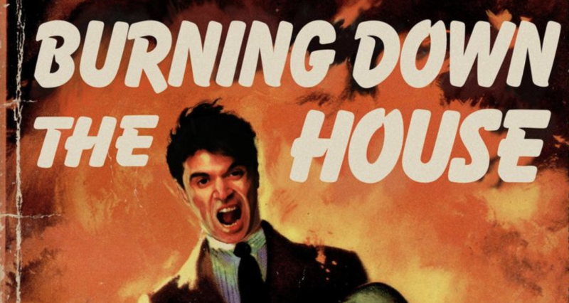 "Talking Heads Songs Become Midcentury Pulp Novels, Magazines & Advertisements: ""Burning Down the House,"" ""Once in a Lifetime,"" and More"