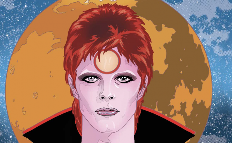 The Story of Ziggy Stardust Gets Chronicled in a New Graphic Novel, Featuring a Forward by Neil Gaiman