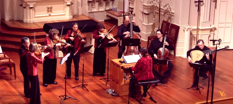 "Watch J.S. Bach's ""Air on the G String"" Played on the Actual Instruments from His Time"