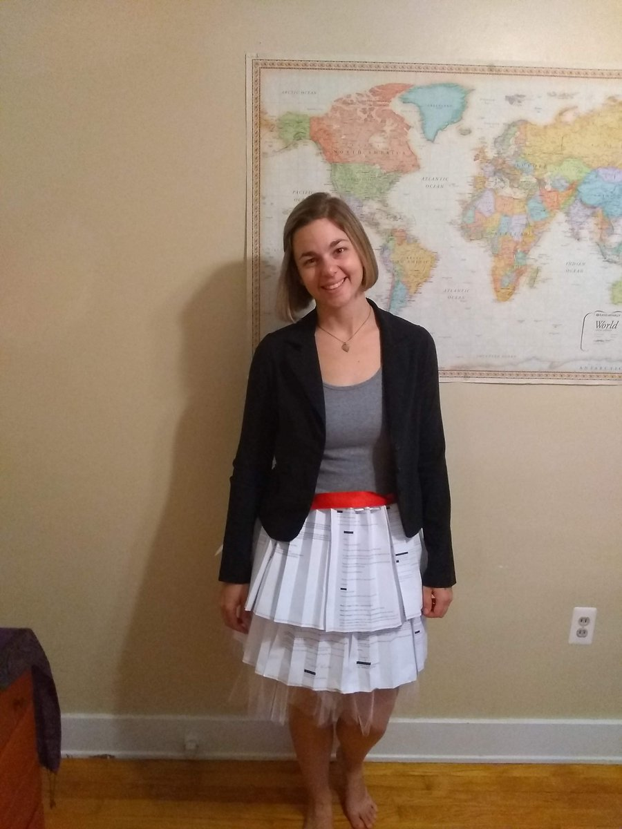 What To Wear To A Successful PhD Thesis Defense? A Skirt