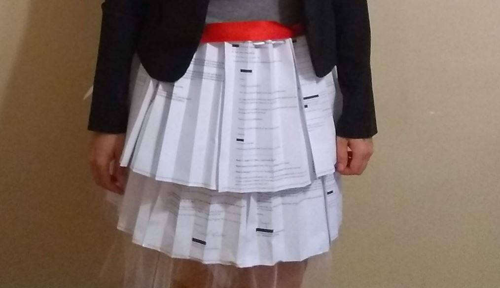 What to Wear to a Successful PhD Thesis Defense? A Skirt's Worth of Academic Rejection Letters