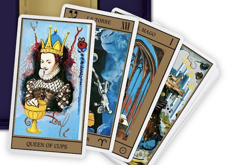 Salvador Dalí's Iconic Deck of Tarot Cards Get Re-Issued: It's Out Today