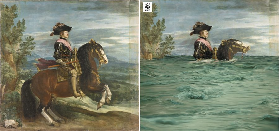 The Prado Museum Digitally Alters Four Masterpieces to Strikingly Illustrate the Impact of Climate Change