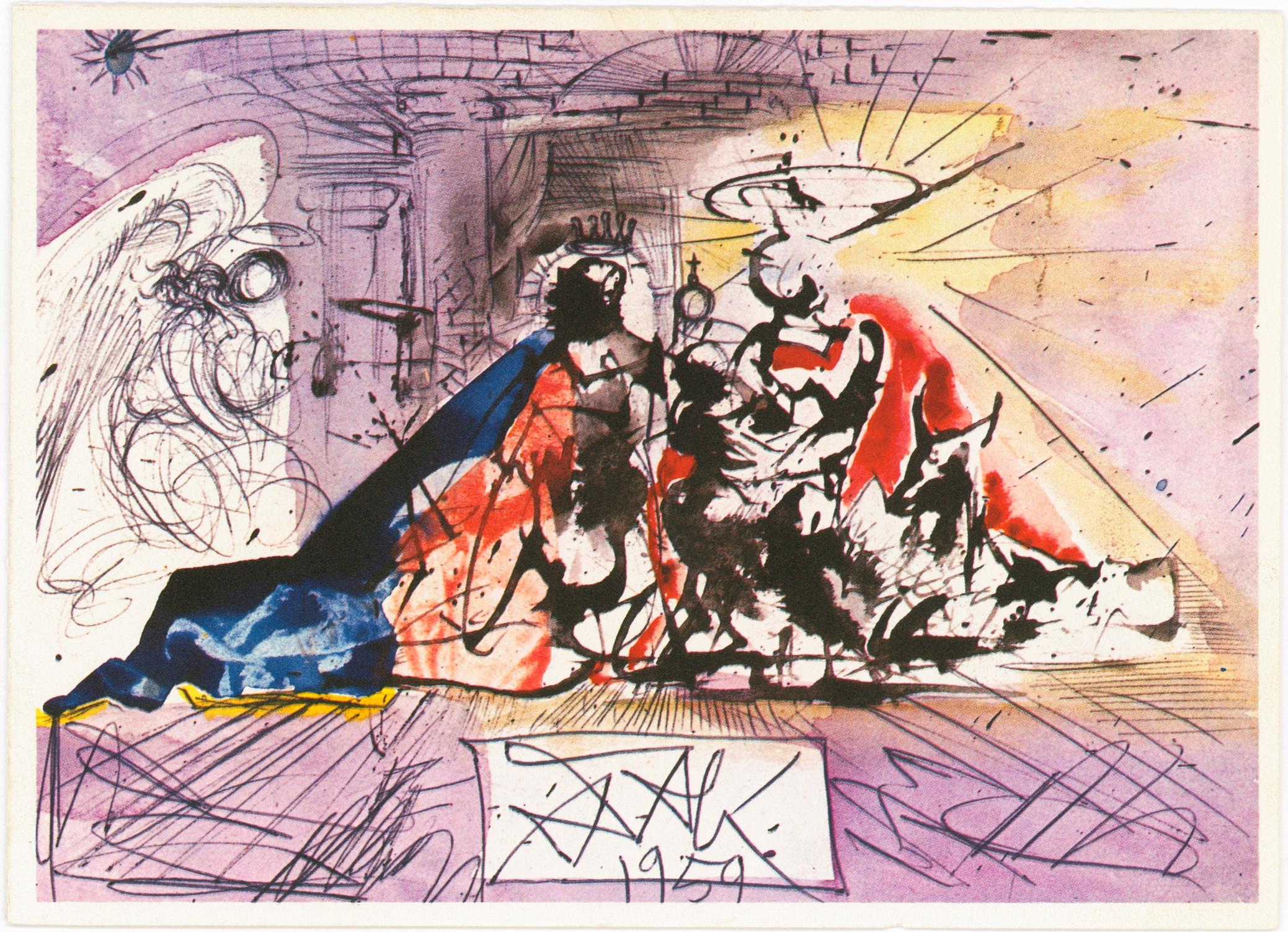 When Salvador Dalí Created Christmas Cards That Were Too Avant Garde for Hallmark (1960)