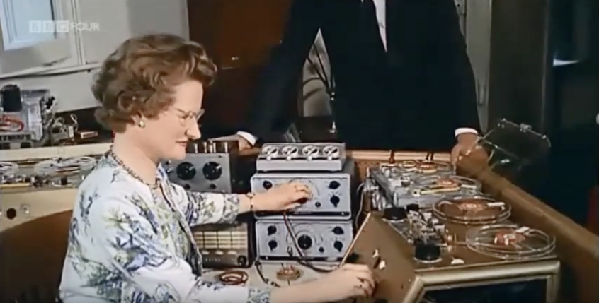 Daphne Oram Created the BBC's First-Ever Piece of Electronic Music (1957)