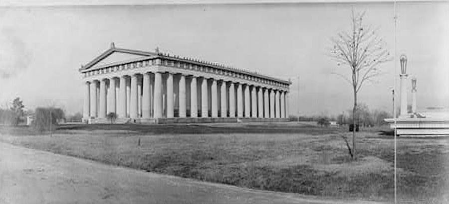The City of Nashville Built a Full-Scale Replica of the Parthenon in 1897, and It's Still Standing Today