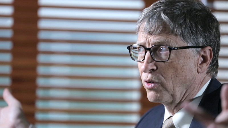 """Bill Gates Describes His Biggest Fear: """"I Rate the Chance of a Widespread Epidemic Far Worse Than Ebola at Well Over 50 Percent"""" (2015)"""