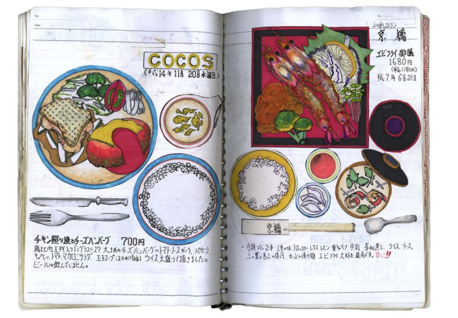 Japanese Artist Has Drawn Every Meal He's Eaten for 32 Years: Behold the Delicious Illustrations of Itsuo Kobayashi