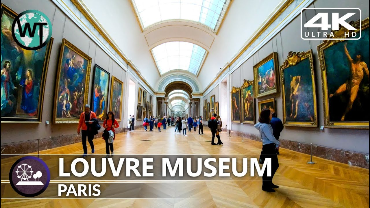 Take a Long Virtual Tour of the Louvre in Three High-Definition Videos
