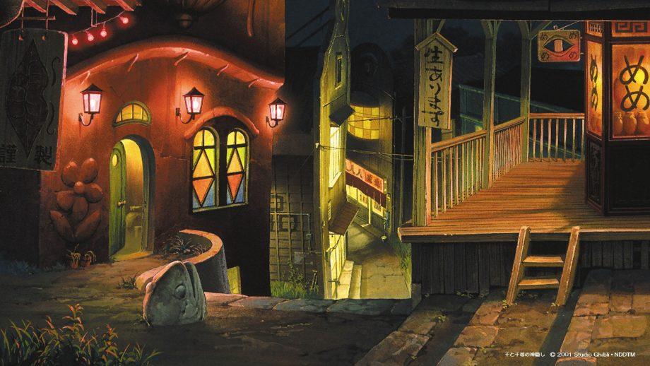 Hayao Miyazaki S Studio Ghibli Releases Free Backgrounds For Virtual Meetings Princess Mononoke Spirited Away More Open Culture