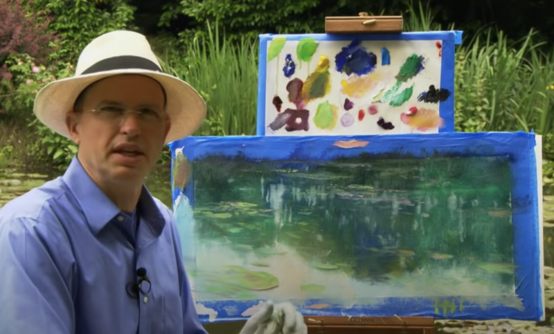 How to Paint Water Lilies Like Monet in 14 Minutes