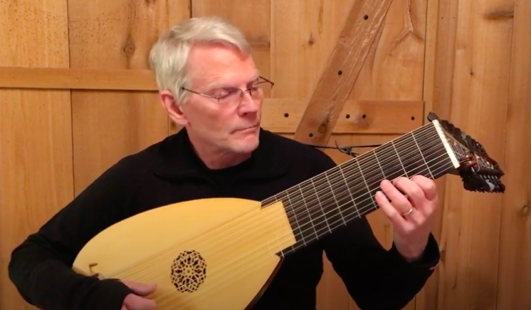"Hear Classic Rock Songs Played on a Baroque Lute: ""A Whiter Shade of Pale,"" ""While My Guitar Gently Weeps,"" ""White Room"" & More"