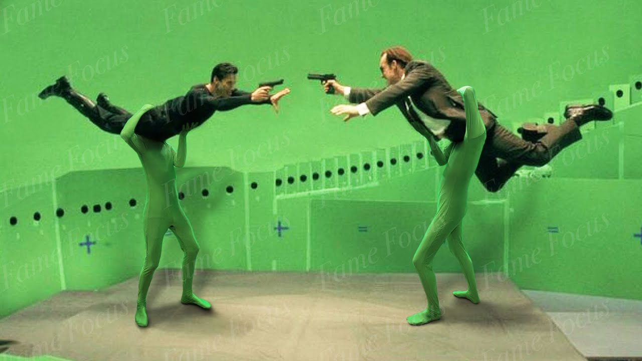This Is What The Matrix Looks Like Without CGI: A Special Effects Breakdown