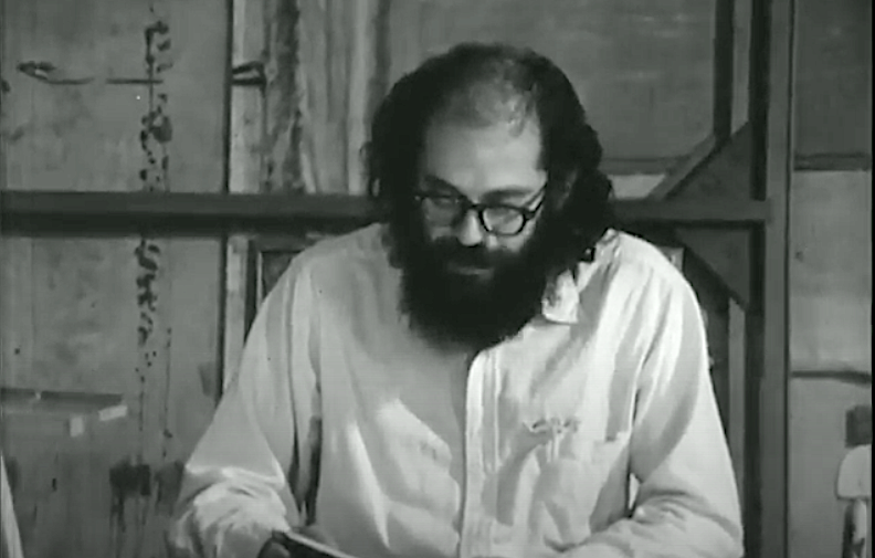 Documentary Portraits of Allen Ginsberg, John Ashbery, William Carlos Williams, Anne Sexton & Other American Poets (1965)