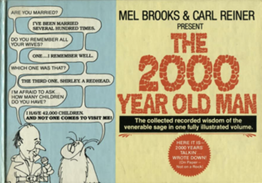 Carl Reiner & Mel Brooks' Timeless Comedy Sketch: The 2000-Year-Old-Man