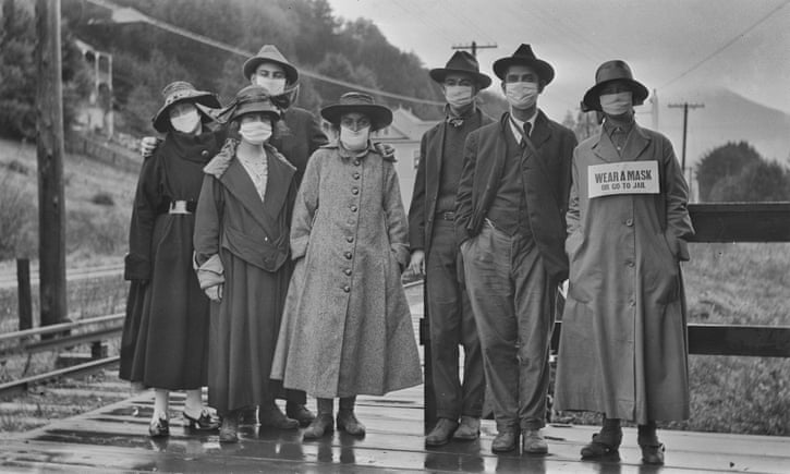 What Happened When Americans Had to Wear Masks During the 1918 Flu Pandemic