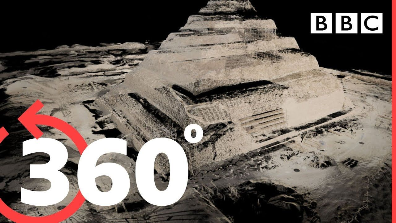 Take an 360° Interactive Tour Inside the Great Pyramid of Giza