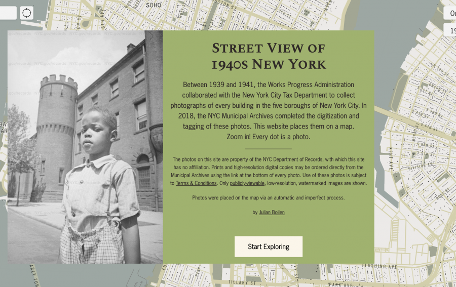 A New Interactive Map Shows All Four Million Buildings That Existed in New York City from 1939 to 1941
