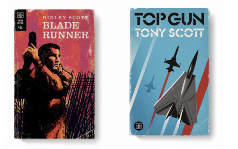 Good Movies as Old Books: 100 Films Reimagined as Vintage Book Covers