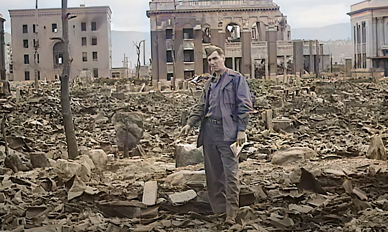 Watch Chilling Footage of the Hiroshima & Nagasaki Bombings in Restored Color