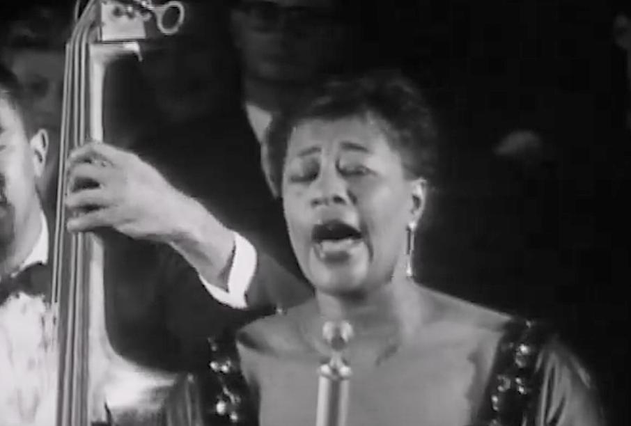 Ella Fitzgerald imita Louis Armstrong