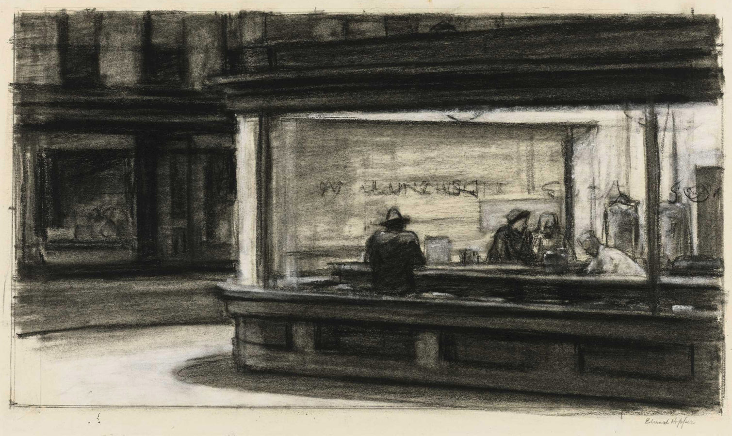 Edward Hopper's Creative Process: The Drawing & Careful Preparation Behind Nighthawks & Other Iconic Paintings