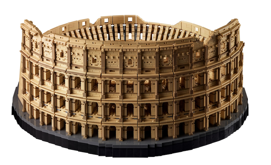 With 9,036 Pieces, the Roman Colosseum Is the Largest Lego Set Ever
