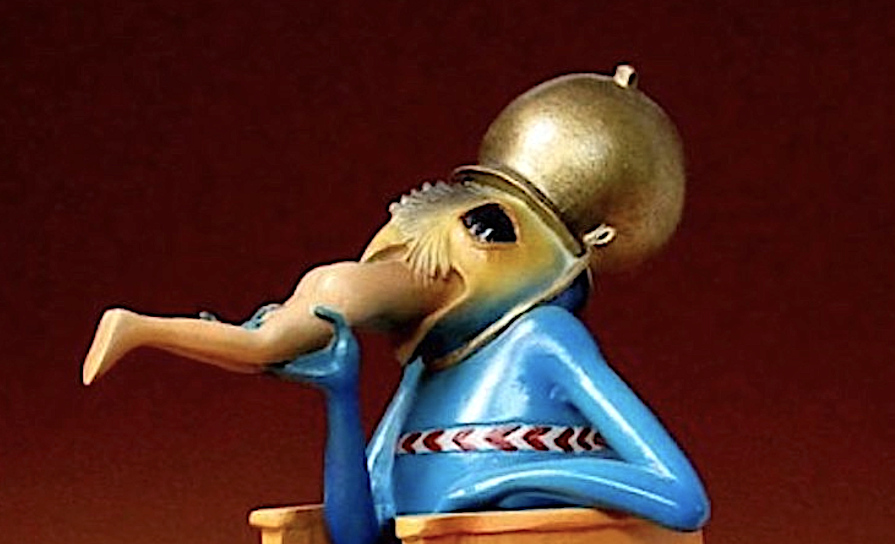 Hieronymus Bosch Figurines: Collect Surreal Characters from Bosch's Paintings & Put Them on Your Bookshelf