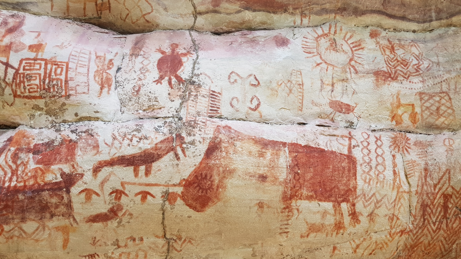 The Sistine Chapel of the Ancients: Archaeologists Discover 8 Miles of Art Painted on Rock Walls in the Amazon