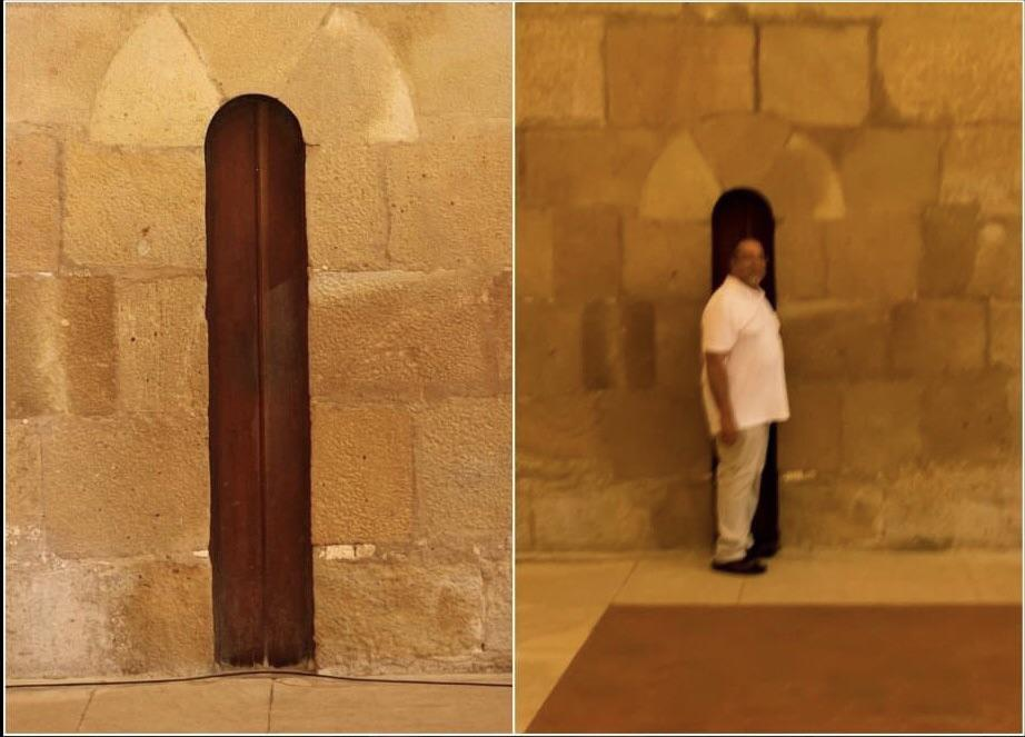 The Anti-Gluttony Door in Portugal's Alcobaça Monastery Shamed Plump Monks to Start Fasting