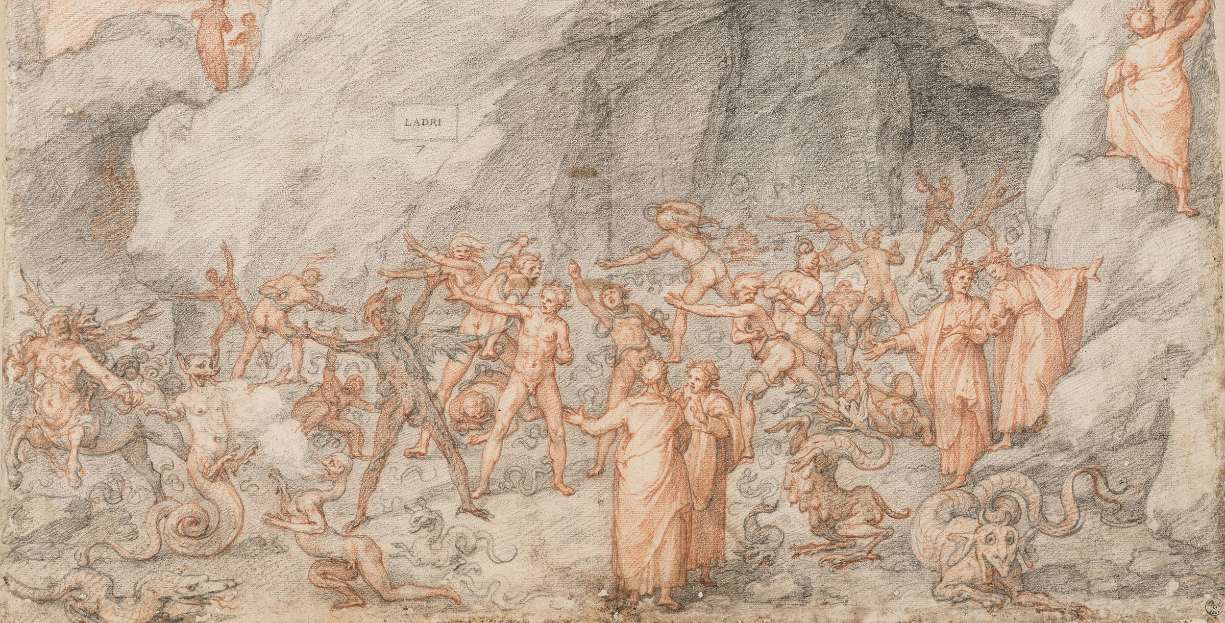 Rarely-Seen Illustrations of Dante's Divine Comedy Are Now Free Online, Courtesy of the Uffizi Gallery
