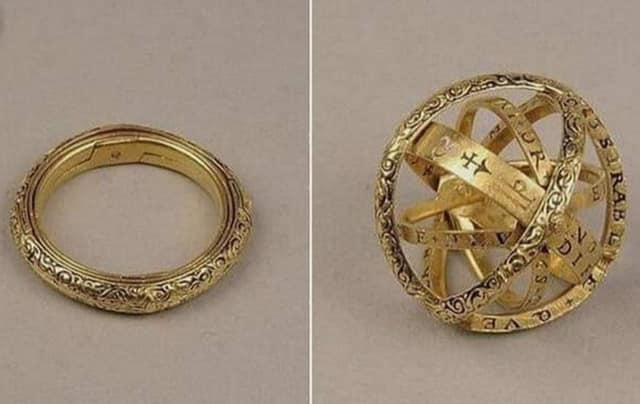 A 400-Year-Old Ring that Unfolds to Track the Movements of the Heavens