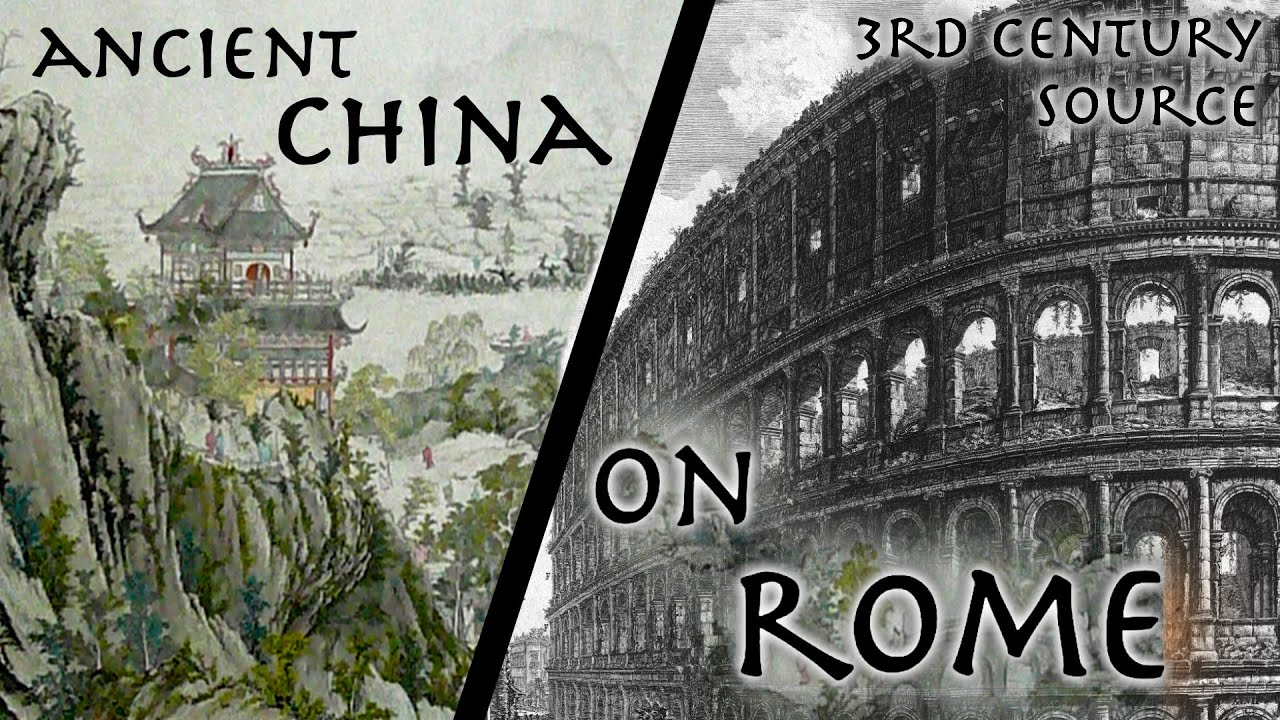 Hear an Ancient Chinese Historian Describe The Roman Empire (and Other Voices of the Past)