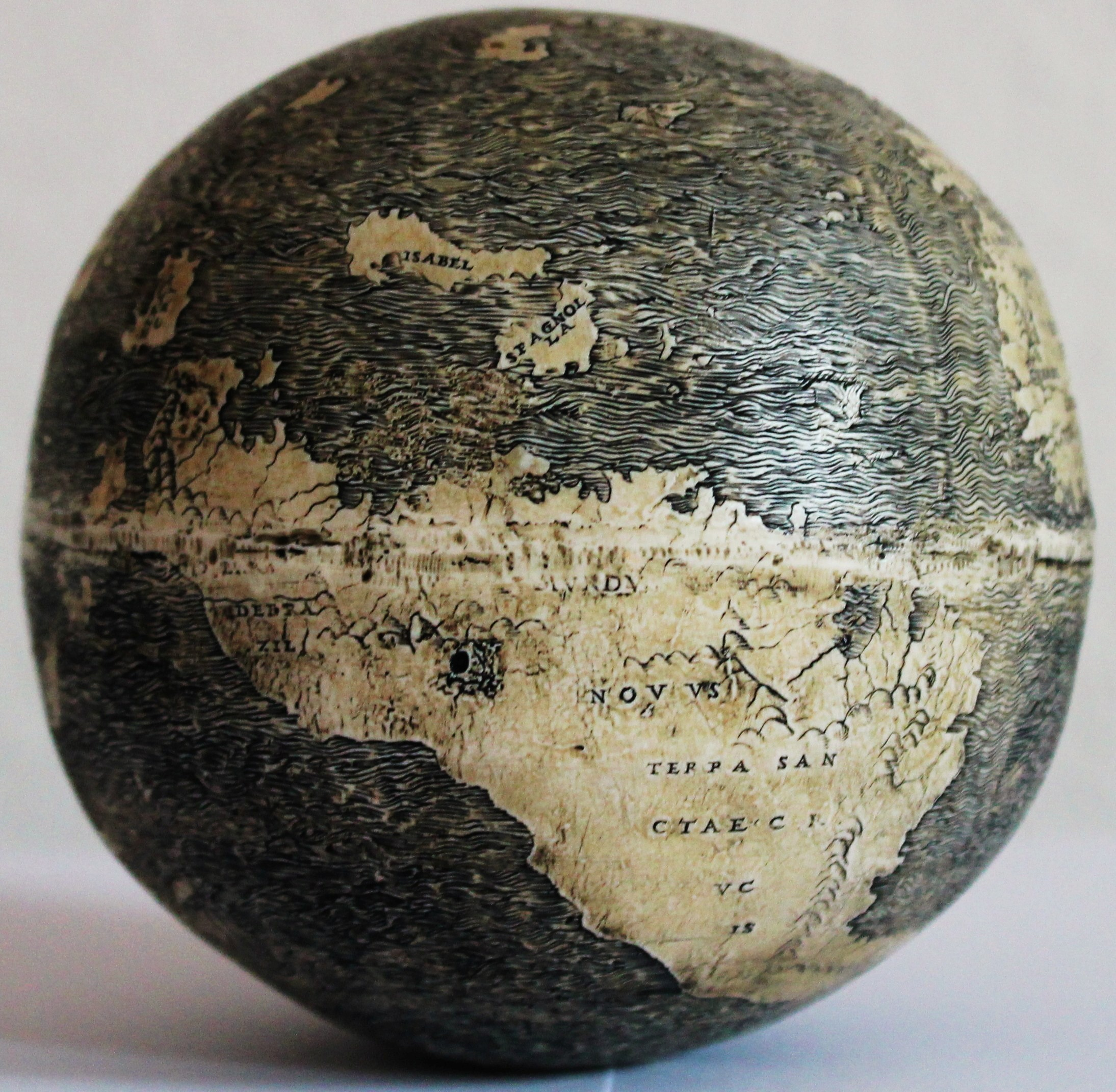 The Oldest Known Globe to Depict the New World Was Engraved on an Ostrich Egg, Maybe by Leondardo da Vinci (1504)