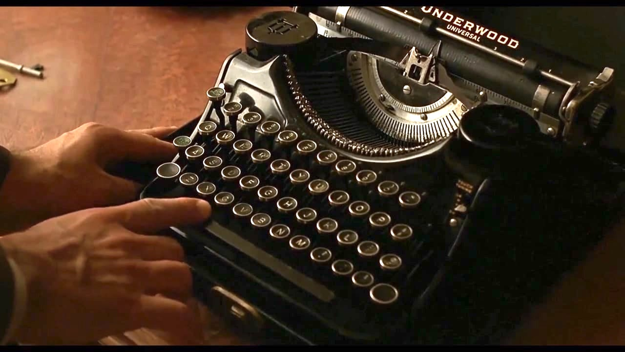 A Celebration of Typewriters in Film & Television: A Supercut