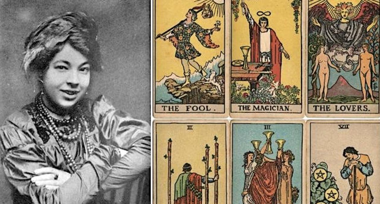 Meet the Forgotten Female Artist Behind the World's Most Popular Tarot Deck (1909)
