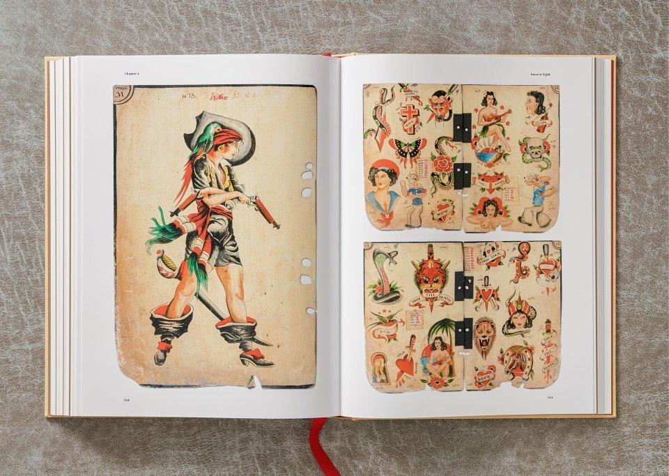 A História da Tatuagem (1730-1970) Documentada por Henk Schiffmacher Artes & contextos tattoo13