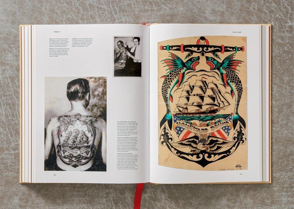 A História da Tatuagem (1730-1970) Documentada por Henk Schiffmacher Artes & contextos tattoo12